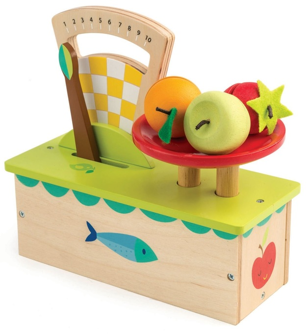 Tender Leaf Toys: Weighing Scales - Roleplay Set