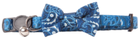 Pawise: Cat Collar with Bowknot - Blue