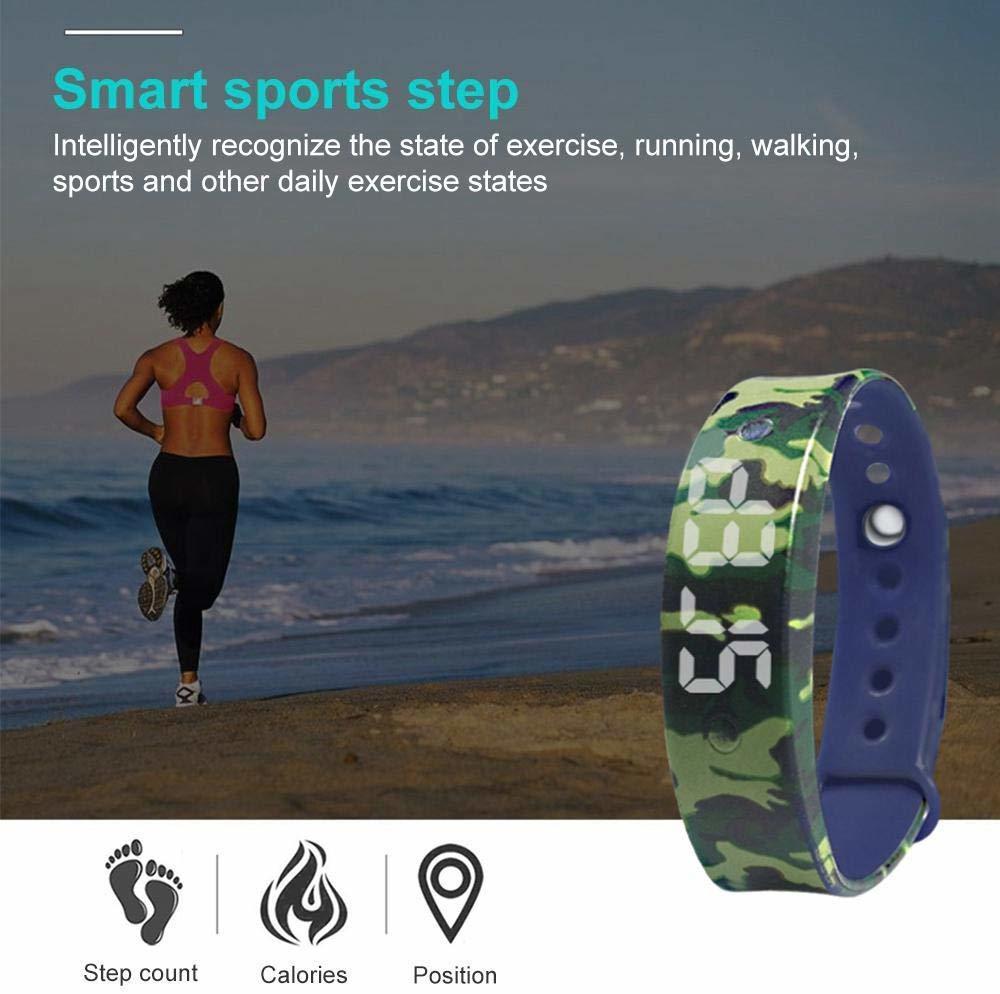 Kids Fitness Smart Band - Black image
