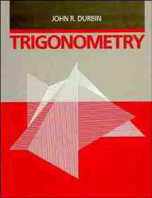 Trigonometry by John R. Durbin image