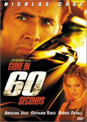 Gone In Sixty Seconds on DVD