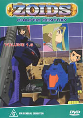 Zoids (Chaotic Century) Vol  1.6 on DVD