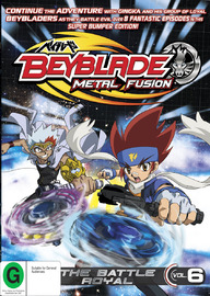 Beyblade Volume 6 - The Battle Royal on DVD