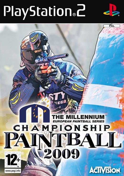 Millenium Series Championship Paintball 2009 (AKA NPPL Championship Paintball 2009) for PlayStation 2