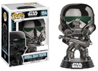 Star Wars: Rogue One - Imperial Death Trooper (Chrome) Pop! Vinyl Figure image