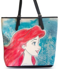 Loungefly Ariel Faux Leather Tote Bag