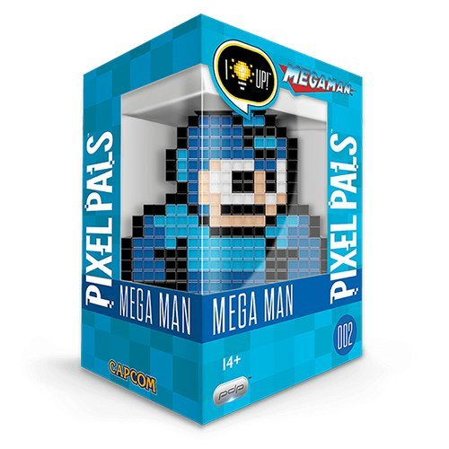 Pixel Pals Capcom Mega Man