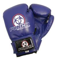 Punch: Urban Junior Boxing Glove - 4.oz (Blue) image