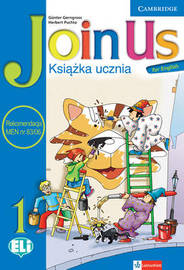 Join Us for English Level 1 Pupil's Book Polish Edition by Gunter Gerngross image