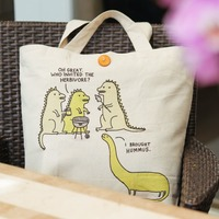 Gemma Corell: Large Shopping Tote - Herbivore