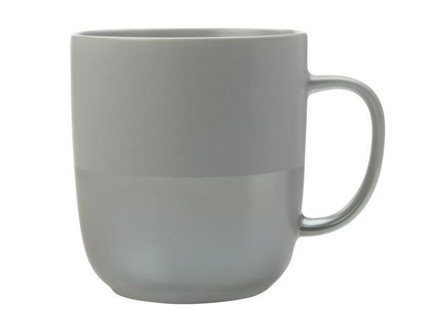 Maxwell & Williams: Lune Mug - Grey Lustre (400ml)