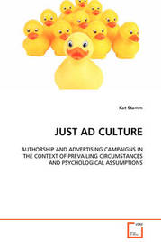 Just Ad Culture by Kat Stamm image