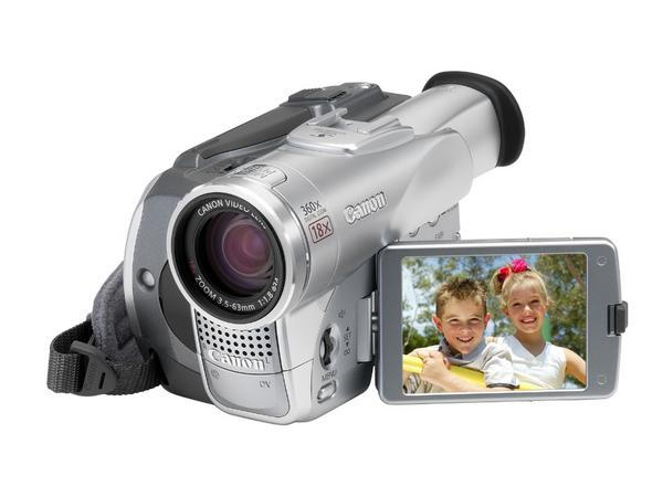 Canon Digital Video Camera 1.3MP 18X Zoom MVX250i