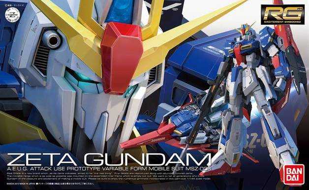 Zeta Gundam RG 1/144 Model Kit