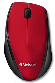 Verbatim Wireless Multi-Surface LED Mouse - Red