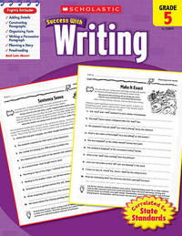 Scholastic Success with Writing, Grade 5 by Barbara Adams image