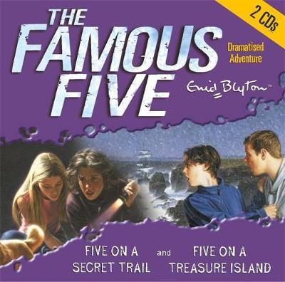 Five on Treasure Island: AND Five on a Secret Trail by Enid Blyton image