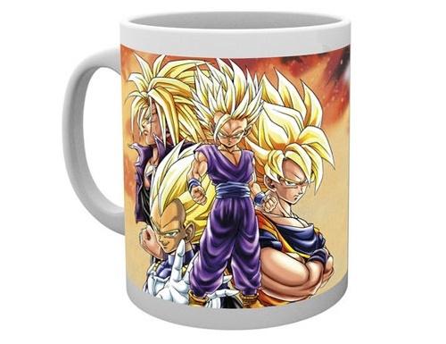 Dragonball Z: Super Saiyans Ceramic Mug