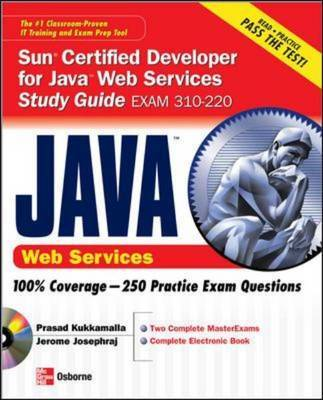 Sun Certified Developer for Java Web Services by Jerome Josephraj image