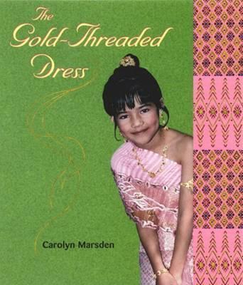 Gold Threaded Dress by Marsden