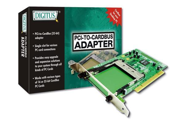Digitus PCI to PCMCIA Adapter Card image