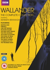 Wallander The Complete Collection DVD Box Set on DVD