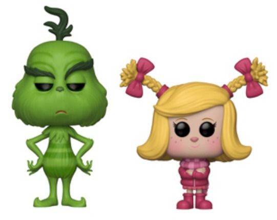 The Grinch (2018) - The Grinch & Cindy-Lou Pop! Vinyl 2-Pack image