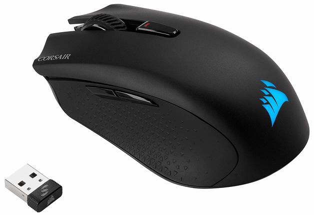Corsair Harpoon Wireless RGB Wireless Rechargeable Optical Gaming Mouse for PC