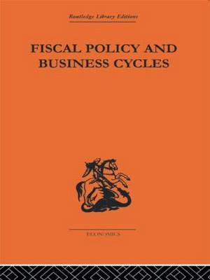 Fiscal Policy & Business Cycles by Alvin H. Hansen image
