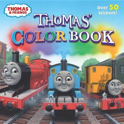 Thomas' Color Book (Thomas & Friends) by Random House