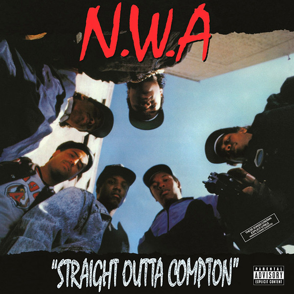 Straight Outta Compton (LP) by N.W.A. image