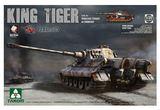 Takom 1/35 King Tiger Henchel Turret A.B.T 505 Model Kit