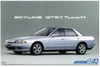 Aoshima: 1/24 Nissan HCR32 Skyline (GTS-T Type M '89) - Model Kit