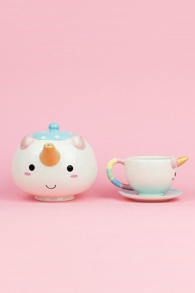 Elodie Unicorn Teapot Set image