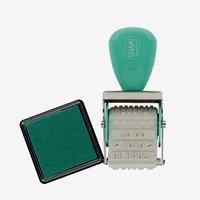 Legami: Just My Type Rotating Stamp & Ink Pad