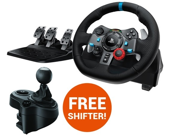 0f32ae2a73d Logitech G29 Feedback Racing Wheel (PS4) | PS4 | In-Stock - Buy Now ...