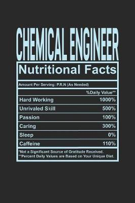 Chemical Engineer Nutritional Facts by Dennex Publishing image