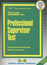Professional Supervisor Test image
