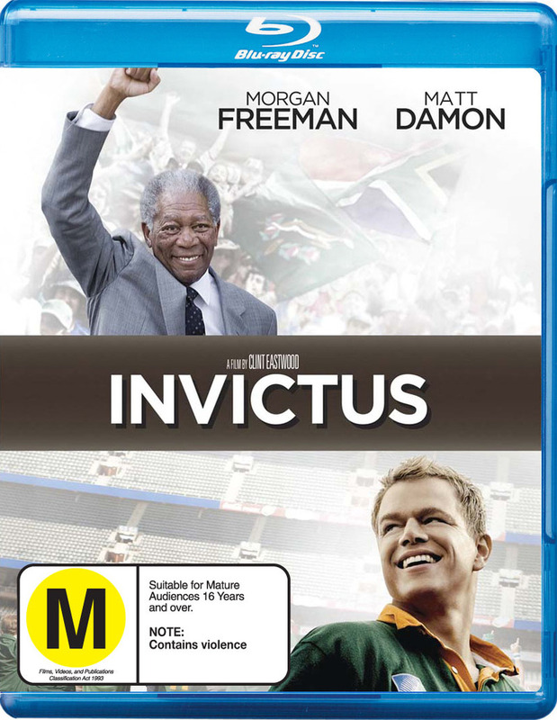 Invictus on Blu-ray