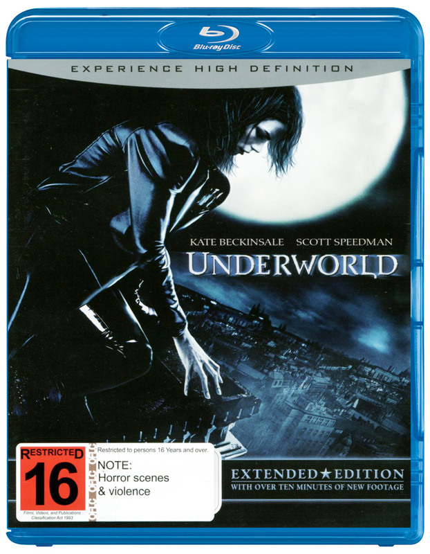 Underworld on Blu-ray