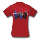 Marvel Captain America Winter Trio Men's T-Shirt (Medium)