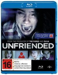 Unfriended on Blu-ray