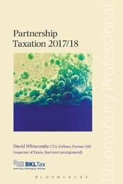 Partnership Taxation 2017/18 by David Whiscombe image