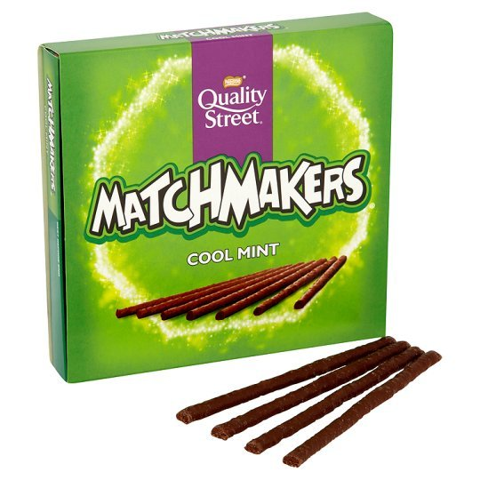 Quality Street Matchmakers Cool Mint (130g) image