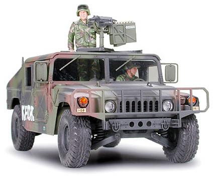 Tamiya 1/35 Humvee Armament Carrier image
