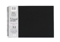 Winsor & Newton: A4 Landscape Visual Diary 110gsm FSC Mix Credit image