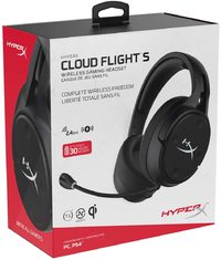 HyperX Cloud Flight S Wireless Gaming Headset for PC image