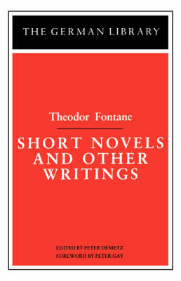 Short Novels and Other Writings by Theodor Fontane image