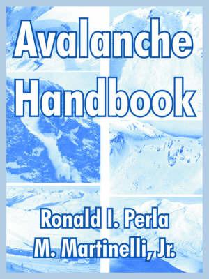 Avalanche Handbook by Ronald, I. Perla image