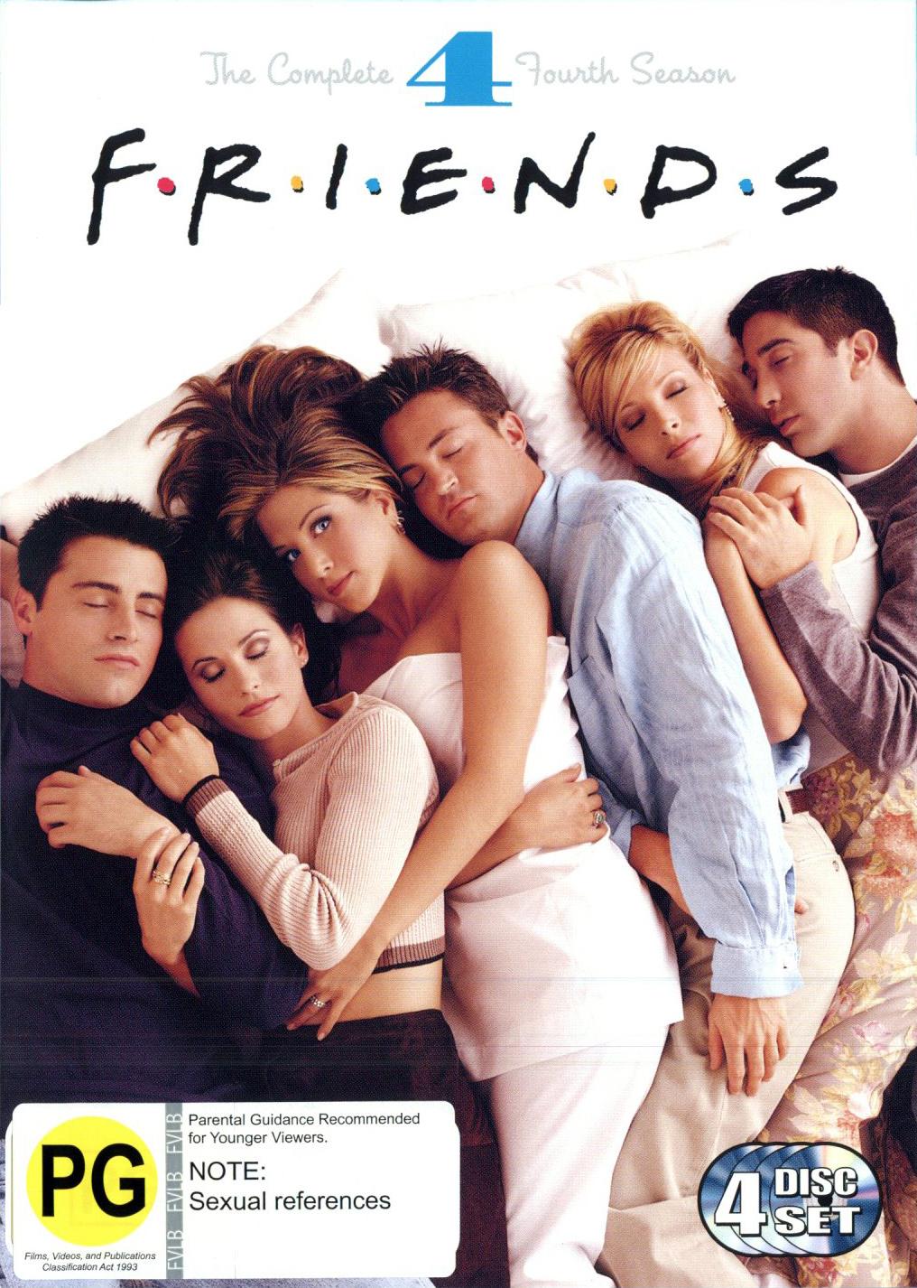 Friends - Season 4 on DVD image